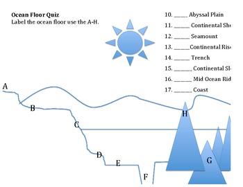Ocean Floor Quiz