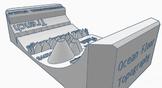 Ocean Floor Topography 3D Printed Model - UPDATE