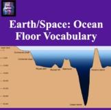 Ocean Floor Vocabulary
