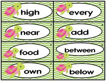 Fry Words 3rd 100-Ocean Fluency Fun Green Unit