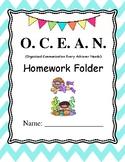 Ocean Folder Cover