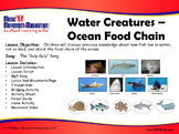 Ocean Food Chain: Gulp Gulp Song Mp3, Visuals, Activities and more!