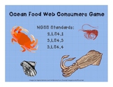 Ocean Food Web Consumer Game (2-LS4-1, 3-LS4-3, 3-LS4-4)
