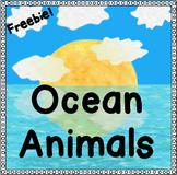 FREE Ocean Animals Activities | Ocean Animals Kindergarten | Ocean Animal Unit