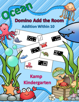 Ocean Friends Addition Within 10 Domino Add the Room