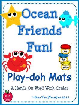Ocean Friends Fun Playdoh Activity Pack