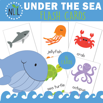Ocean Friends Flash Cards
