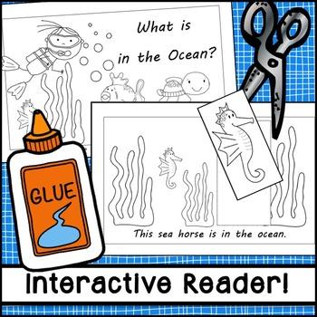 Ocean Positional Words Interactive Emergent Reader