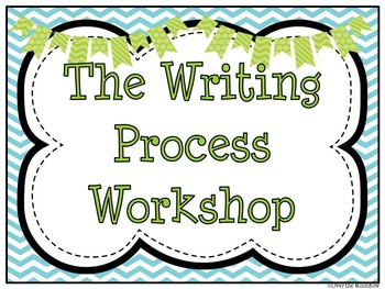 Ocean Friends Writing Process Workshop Displays & Clip Chart