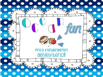 Ocean Fun: A Literacy and Math Mini Packet