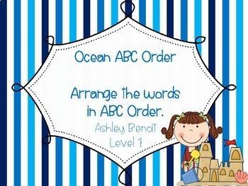 Ocean Fun: A Literacy and Math Mini Packet
