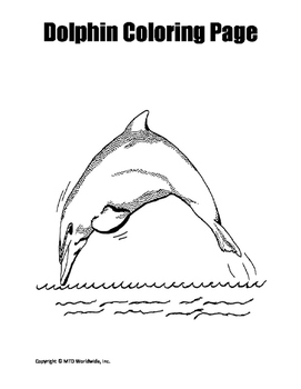 Ocean Fun Pack Printables, Coloring Pages and Worksheets Bundle