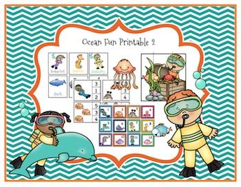 Ocean Fun Printable 2