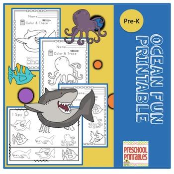 Ocean Fun Printable