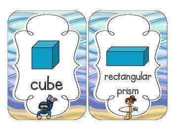 Ocean Fun Shape Cards