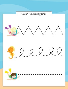 Ocean FunThemed Preschool Printable Pack