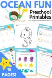 Ocean FunThemed Preschool Printable Pack