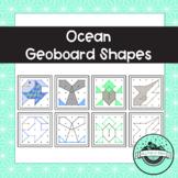 Ocean Geoboard Task Cards