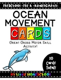 Ocean Gross Motor Skill Movement & Brain Break Cards