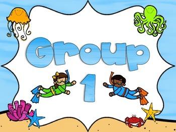 Ocean Group/Table Signs