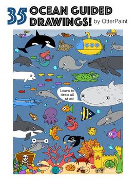 Ocean Guided Drawings