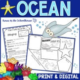 Ocean Habitat Research Activities and Graphic Organizers
