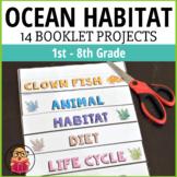 Ocean Habitat - 14 Different Booklet Projects!