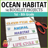 Ocean Habitat - 14 Different Booklet Projects!
