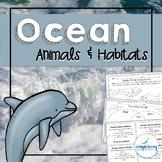 Ocean Animals and Habitat Unit