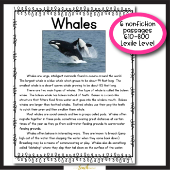 Ocean Habitat: Close Reading & Informational Report Writing