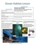 Ocean Habitat Lesson and Power Point