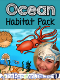 Ocean Habitat Pack - 186 pgs. of Non-Fiction Ocean Habitat Fun!