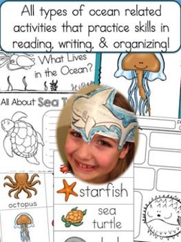 Ocean Habitat Pack - 186 pgs. of Non-Fiction Ocean Habitat Fun!