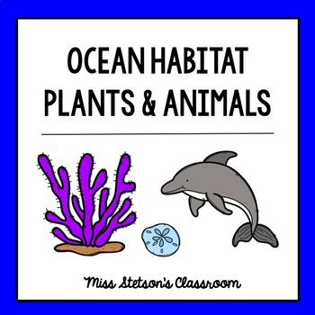 Ocean Habitat - Plants and Animals