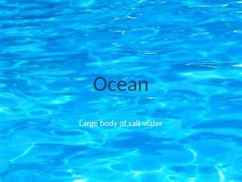 Ocean Habitat Power Point