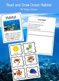 Ocean Habitat Read and Draw