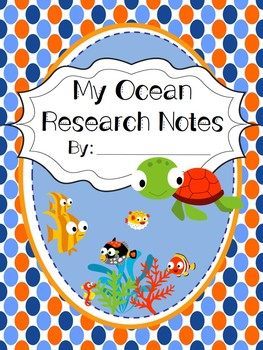 Ocean Habitat Research Book