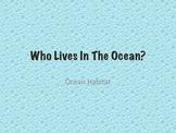 Ocean Habitat themed learning