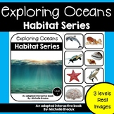Ocean Habitats Adapted Book Unit with Real Images (Autism, Special Education)