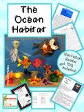 Ocean Habitats Unit Common Core Aligned with Craftivities