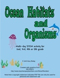 Ocean Habitats and Organisms STEM / Integrated Unit