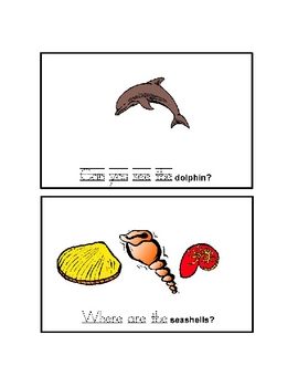 Ocean High Frequency Words Practice Book