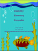 Editable Ocean Homework Folder Sheet