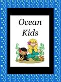 Ocean Kids Center Sign