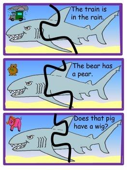 Kindergarten Ocean Puzzles, Writing, and Pocket Chart Activities