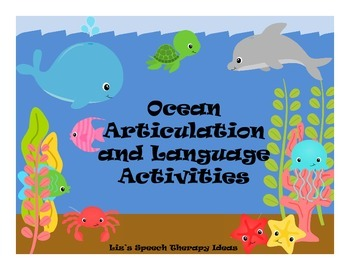 Ocean Language and Articulation - Mixed groups and RTI