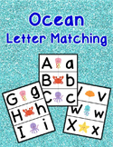 Ocean Letter Matching Cards