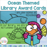 Ocean Library Award Cards