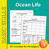 Ocean Life 1: Thematic Unit for All Subjects