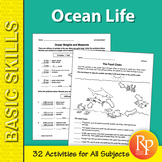 Ocean Life 2: Thematic Unit for All Subjects
